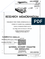 NACA RM L9D01 Preliminary Wind-tunnel Investigation at High-subsonic Speeds of Planing-tail, Blended, And Airfoil-Forebody Swept Hulls