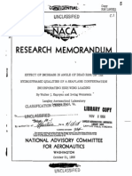 NACA RM L56H21 Effect of Increase in Angle of Dead Rise on the Hydrodynamic Qualities of a Seaplane Configuration Incorporating High Wing Loading