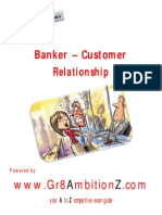 Customer-Bankers Relationship - Gr8AmbitionZ