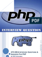 GTU MCA PHP  Interview Questions And Answers for freshers