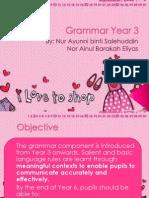 Grammar Year 3