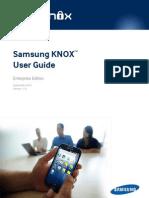 Samsung KNOX User Guide (Enterprise) 1