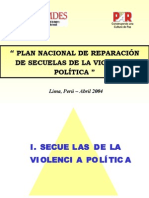 Plan de Violencia Familiar
