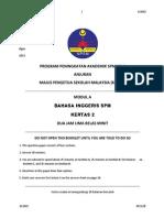 Trial Kedah English Spm 2013 k2 Dan Jawapan