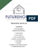 Futurehouse Training Manualoptimised