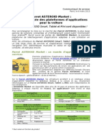 Parrot ASTEROID Market (FR)