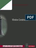 Cleanroom Windows Window Schematics