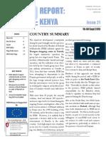 Westgate Attack- Nairobi Security Report September