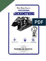Locksmithing Course - Foley-belsaw
