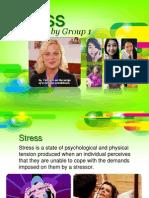 Stress (Human Adjustment) Psychology