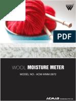 Wool Moisture Meter