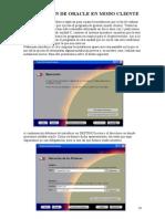 Manual de Instalacion de Oracle Modo Cliente