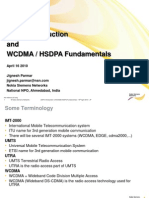 UMTS Introduction & Wcdma HSDPA Fundmental JP
