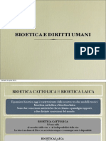 Bioetica e Diritti Umani