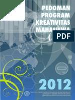 Panduan Pkm Dikti 2013