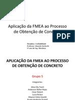 Aplicação da FMEA