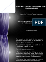 ISRICA - Virtual Study of the Human Space Consciousness