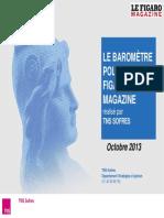 Baromètre politique - octobre 2013