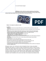 Dt Sense Usirr (ultrasonic and infrared ranger)