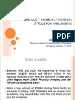 Curbing illicit financial transfer