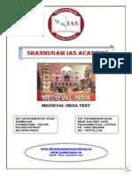 Tnpsc Medieval India Test Answer1