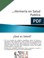 Enfermería en Salud Publica