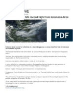 Singapore Haze News