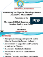 Dr. Sam Amadi Presentation at the Lagos Oil Club_April 23rd 2012