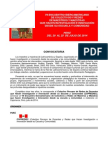 Convocatoria VII Iberoamericano. Peru. 2014