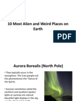 10 Most Alien and Weird Places on Earth