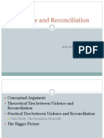 Violence and Reconciliation