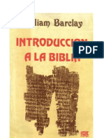 17116971 William Barclay Introduccion a La Biblia