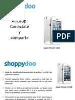 Shoppydoo Air Drop iPhone 5