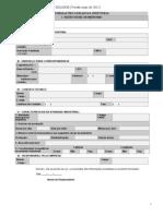 Formulario Do Inventario de Residuos