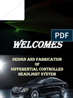 differential based head light control system for four wheeler...