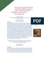 Lopez Yepes - La Produccion de Los Cientificos Y de Los Centros de Investigacion
