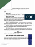 Ordenanza Municipal de Protección Ambiental en Materia de Ruídos y Vibraciones