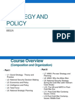Strategy and Policy