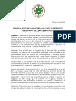 CP - Denuncia propuesta para dar credito contributivo para donativos a exgobernadores.docx