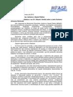 """Carta aberta ao Fantástico e ao Dr. Dráuzio Varella sobre a série """"Autismo"""