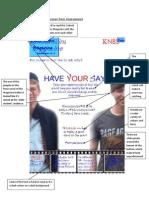 Tom Dalton Magazine Cover Peer Assessment