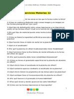 Ejercicios Teóricos Materias Primas 3er Trimestre