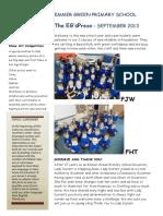Newsletter Sept 2013