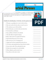 Adverb11 Adverbial Phrases Exercises