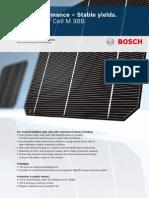 Bosch Solar Cell M 3BB C3 1200 Englisch