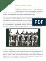 Formação da Escolta a Cavalo