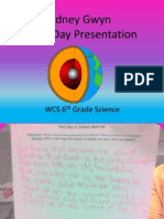 1st Day Presentation