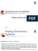 Basics of Operational Amplifier