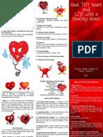 Cardio pamphlet