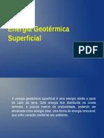 Energia Geotérmica Superficial